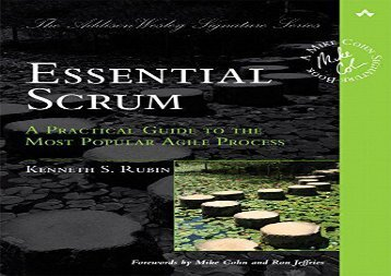 [+]The best book of the month Essential Scrum: A Practical Guide to the Most Popular Agile Process (Addison-Wesley Signature)  [READ]