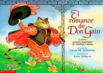 [+][PDF] TOP TREND El Romance de Don Gato: Y Otros Cuentos Populares de America Latina  [FREE]