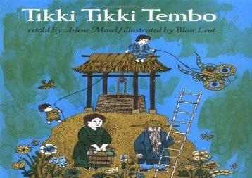 [+][PDF] TOP TREND Tikki Tikki Tembo  [DOWNLOAD]