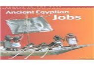 [+][PDF] TOP TREND Ancient Egyptian Jobs (People in the Past: Egypt)  [NEWS]