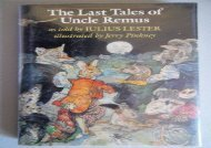 [+]The best book of the month The Last Tales of Uncle Remus  [DOWNLOAD]