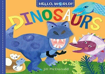 [+]The best book of the month Hello, World! Dinosaurs [PDF]