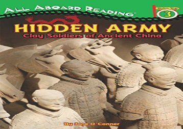 [+][PDF] TOP TREND Hidden Army: Clay Soldiers of Ancient China (All Aboard Reading, Station Stop 3)  [READ]