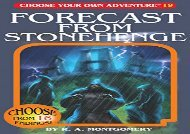 [+]The best book of the month Forecast from Stonehenge (Choose Your Own Adventure)  [READ]