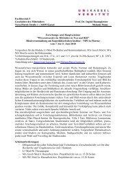 Fachbereich 5 Geschichte des Mittelalters Prof. Dr. Ingrid ...