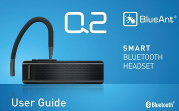User Guide - BlueAnt Wireless
