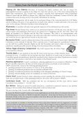 Notes from the Parish Council Meeting 6th October - Christow News - Page 2
