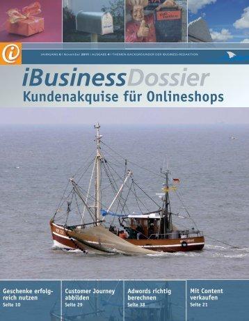 Kundenakquise für Onlineshops - iBusiness