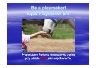 Be a playmaker! Bądź Playmaker'em! - Buksza Polo