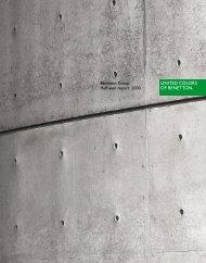 Benetton Group Half-year report 2000