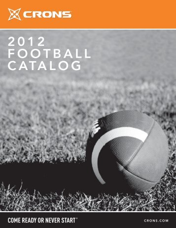 2012 FOOTBALL CATALOG - CRONS
