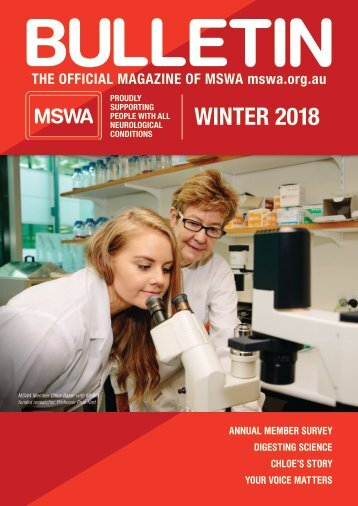 MSWA Bulletin Magazine Winter 18