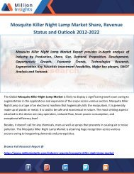 Mosquito Killer Night Lamp Market Share, Revenue Status and Outlook 2012-2022