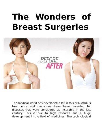 The Wonders of Breast Surgeries