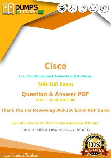Cisco 300-160 Exam Dumps