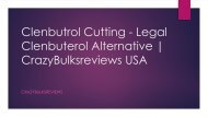 Clenbutrol (Clenbuterol) Review | Shop For Muscle Cutting Supplement