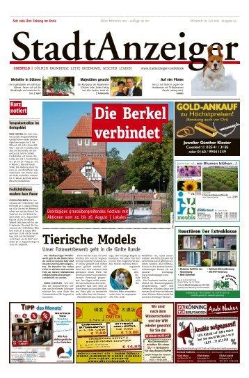 Stadtanzeiger Coesfeld kw 29