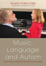 Read Music, Language and Autism: Exceptional Strategies for Exceptional Minds - Adam Ockelford [Full Download]