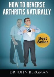 Read Aloud How to Reverse Arthritis Naturally - Dr John Bergman [PDF File(PDF,Epub,Txt)]