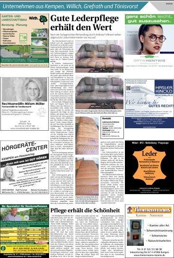 Unternehmen aus Kempen, Willich, Grefrath und Tönisvorst  -18.07.2018-