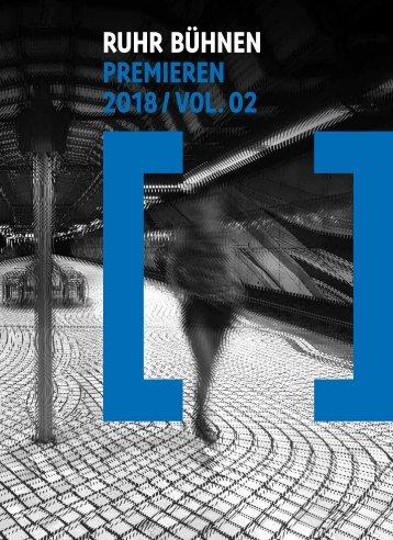 Premierenkalender RuhrBühnen 2018 / Vol. 02