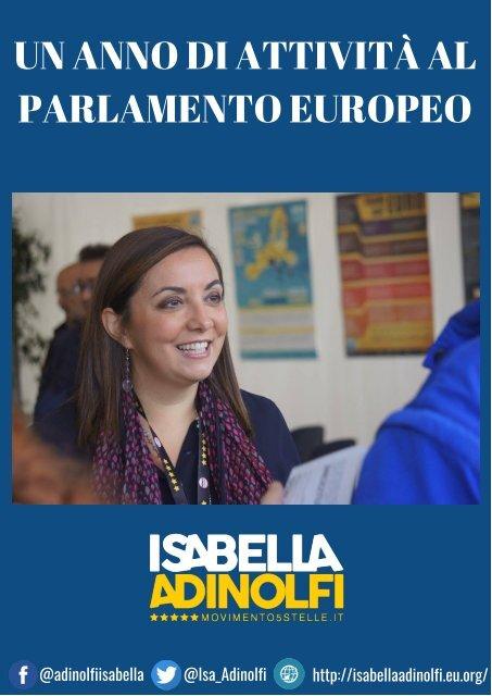 Un anno di attività al Parlamento europeo