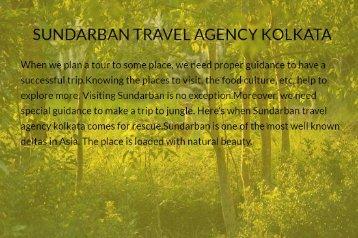Sundarban Travel Agency Kolkata
