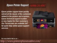 Call +1(888) 211-0387 Epson Laser Printer Support Phone Number For Get Instant Help.output