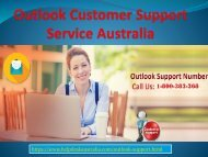How to Contact Outlook Support 1-800-383-368 Number Australia- For Some Issues