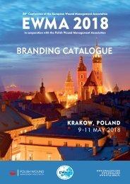 EWMA 2018 branding catalogue