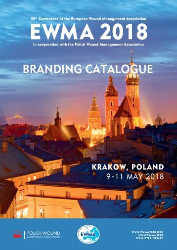 EWMA 2018 branding catalogue