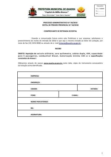 Edital Veiculo Saude Porcedimento 39_2018_