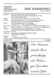 4 - 2006 - Harmonie Wettingen-Kloster