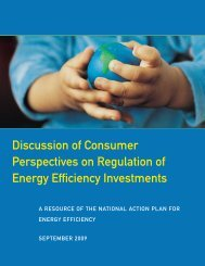 Discussion of Consumer Perspectives on Regulation of Energy ...