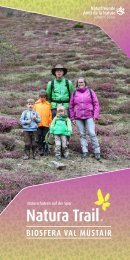 Natura Trail Val Müstair DE