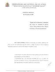 Decreto nº 1664 2018