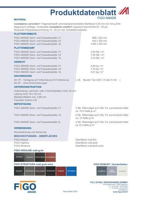 FIGO AMADE Produktdatenblatt VB AT