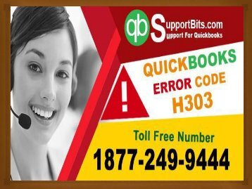 QuickBooks Error Code H303 | QuickBooks Error H303 | Toll-free +18772499444