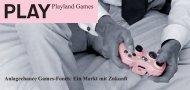 Playland Games Fonds / Spiele Fonds Kurz-Flyer