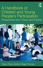 A Handbook of Children and Young People's Participation ...