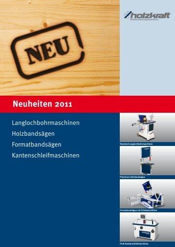 Neuheiten 2011