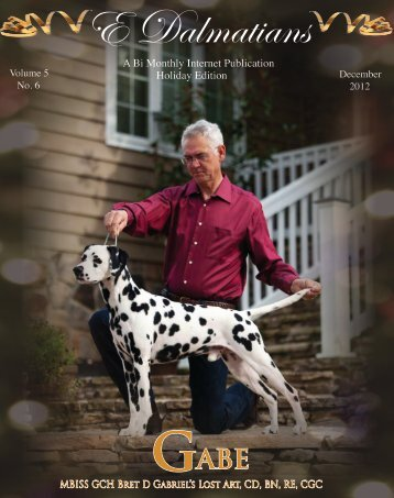 Download Complete Oct/Nov Edition in PDF - E Dalmatians