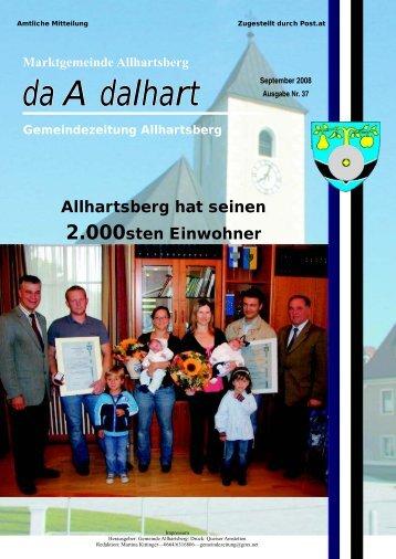 """""""Turnen mit Kindern"""" von 1 - 4 Jahren - Marktgemeinde Allhartsberg"""