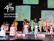 Spring/Summer 2012 Arts Guide - CPCC Arts - Central Piedmont ...