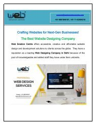 Best Website Designing Company Delhi