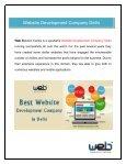 Best Website Designing Company Delhi - Page 3