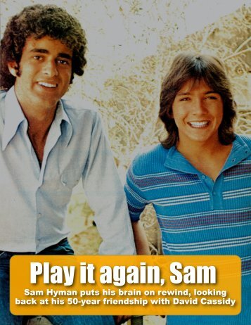 Interview with Sam Hyman - David Cassidy