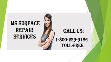 Call 1-800-229-9186 MS Surface Repair Services
