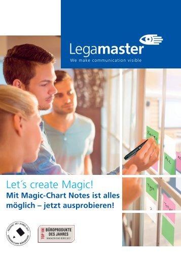 WEMA RaumKonzepte: Legamaster - Magic-Chart Notes