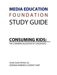 Consuming Kids - Media Education Foundation